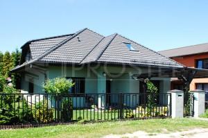 Budynek mieszkalny jednorodzinny | Typ: parterowy z poddaszem użytkowym | Powierzchnia użytkowa: 155,00m2 | Rydułtowy, 2006r.