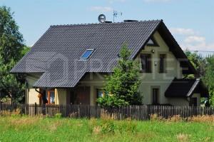 Budynek mieszkalny jednorodzinny | Typ: parterowy z poddaszem użytkowym | Powierzchnia użytkowa: 102,50m2 | Rydułtowy, 2004r.