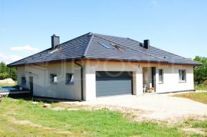 Budynek mieszkalny jednorodzinny | Typ: parterowy z poddaszem użytkowym | Powierzchnia użytkowa: 200,20m2 | Rydułtowy, 2011r.