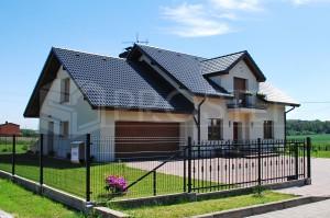 Budynek mieszkalny jednorodzinny | Typ: parterowy z poddaszem użytkowym | Powierzchnia użytkowa: 286,00m2 | Rydułtowy, 2009r.