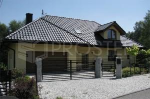 Budynek mieszkalny jednorodzinny | Typ: parterowy z poddaszem użytkowym | Rydułtowy, 2008r.
