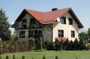 Budynek mieszkalny dwurodzinny | Typ: parterowy z poddaszem użytkowym, podpiwniczony | Powierzchnia użytkowa: 268,60m2 | Rydułtowy, 2004r.