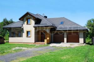 Budynek mieszkalny jednorodzinny | Typ: parterowy z poddaszem użytkowym | Powierzchnia użytkowa: 130,90m2 | Rydułtowy, 2007r.