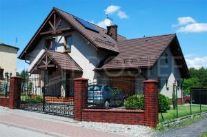 Budynek mieszkalny jednorodzinny | Typ: parterowy z poddaszem użytkowym | Powierzchnia użytkowa: 177,00m2 | Rydułtowy, 2006r.