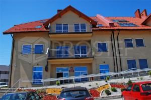Zabudowa mieszkalno-usługowa (Urząd Pocztowy oraz Placówka Bankowa wraz z lokalami mieszkalnymi) | Rydułtowy, 2008r.