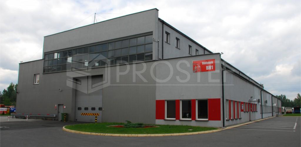 "Zabudowa biurowo-magazynowa ""Ballyvesey Holdings Polska"" | Rybnik, 2011r."