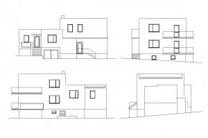 R 003 | Przed - inwentaryzacja | Zmiana konstrukcji dachu budynku mieszkalnego jednorodzinnego | Rybnik, 2010r.