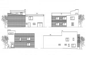 R 004 | Przed - inwentaryzacja | Rozbudowa z przebudową budynku mieszkalnego jednorodzinnego | Rydułtowy, 2012 r.
