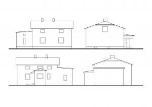 R 006 | Przed - inwentaryzacja | Rozbudowa i zmiana konstrukcji dachu budynku mieszkalnego jednorodzinnego | Czerwionka-Leszczyny, 2012r.